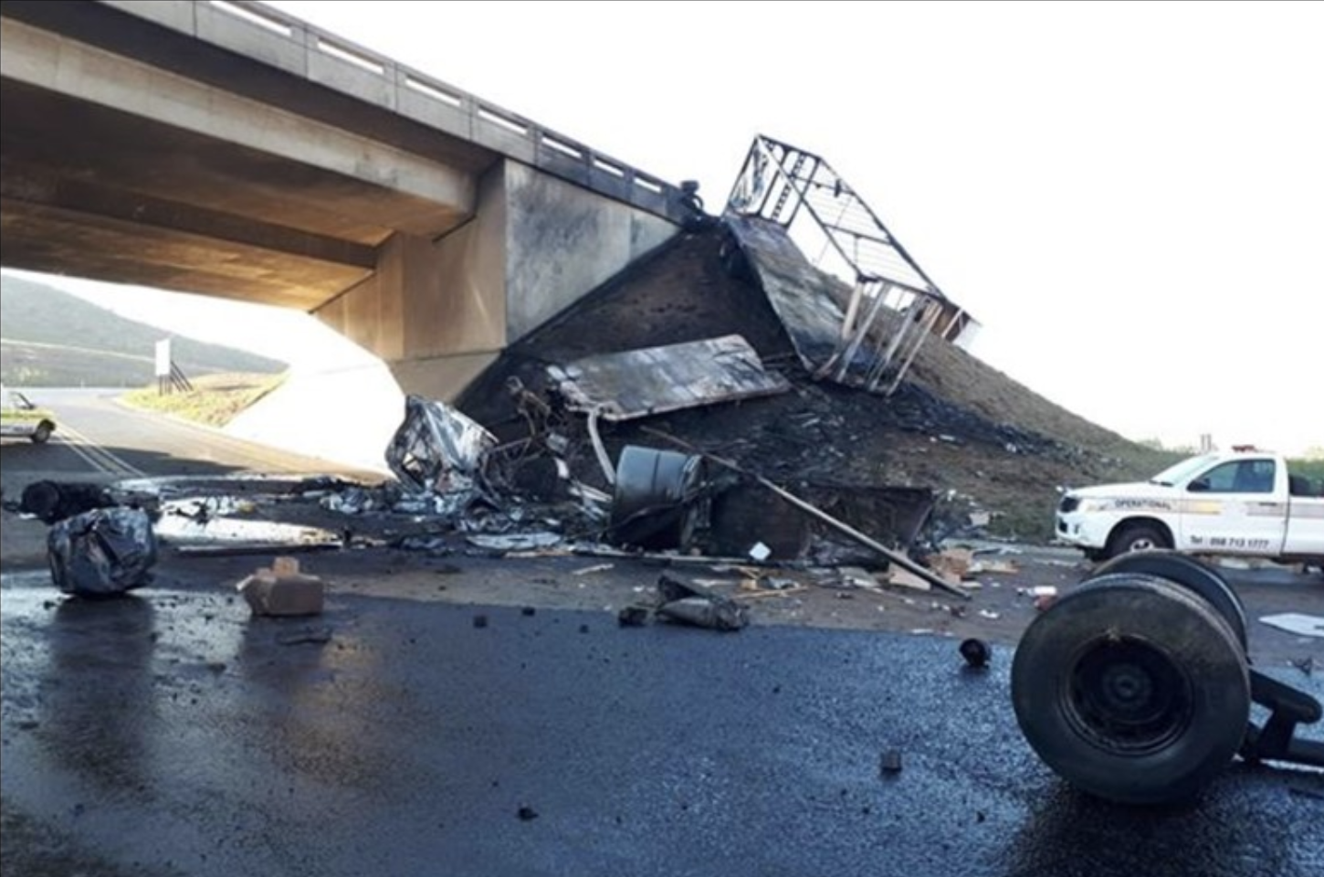 Total Road Closure: Two trucks involved in fatal N3 crash