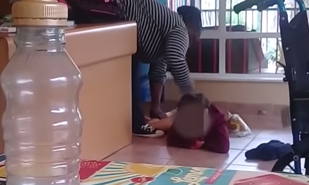 Резултат с изображение за Caregiver caught kicking disabled child's head 'because her nappy is leaking'