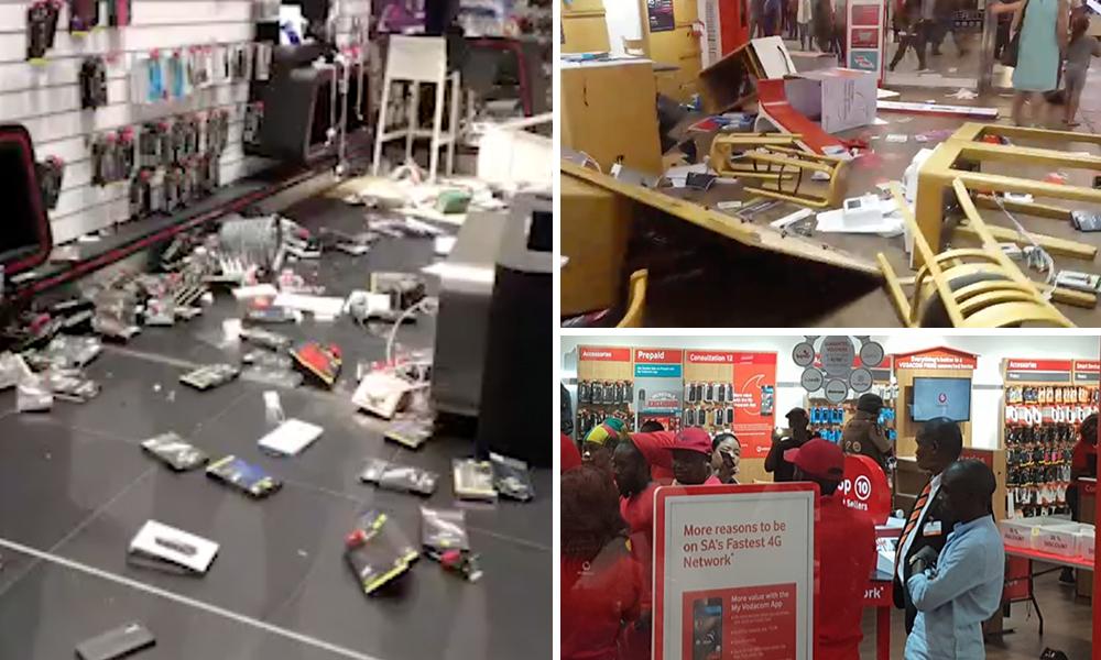 Image result for eff destroying vodacom